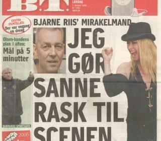 Ole Kåre Føli Har Behandlet Og Hjulpet Mange Gennem årene. Her Omtales Han Som Bjarne Riis´mirakelmand.