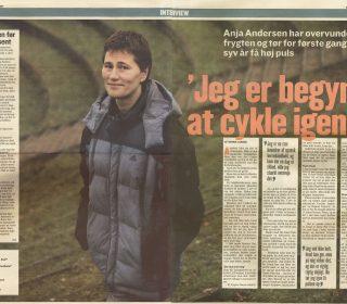 Anja Andersen Fik Behandlinger Af Ole Kåre Føli, Og Fik Livsmodet Igen.