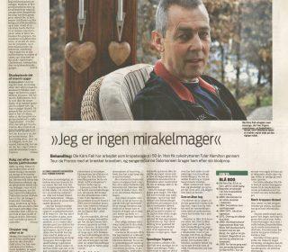 """Ole Kåre Føli Fortæller """"Jeg Er Ingen Mirakelmager"""""""