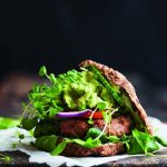 "Sund burger fra ""sund og frisk"""