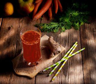Afstressende Julejuice Med Appelsin, Rødbeder Og Kanel